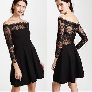 NWOT BB Dakota Dennett Lace Off the Shoulder Dress